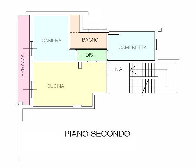 Planimetria 1/1 per rif. VVR46