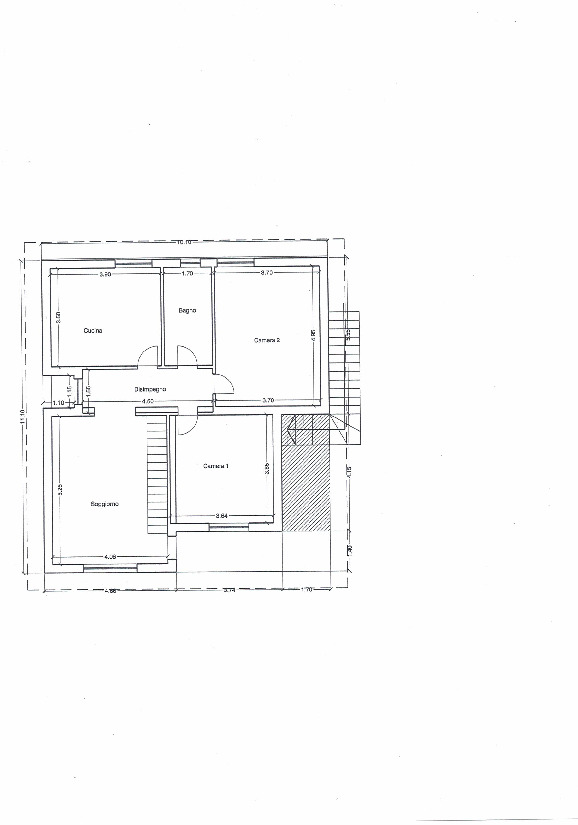 Planimetria 1/1 per rif. VR52