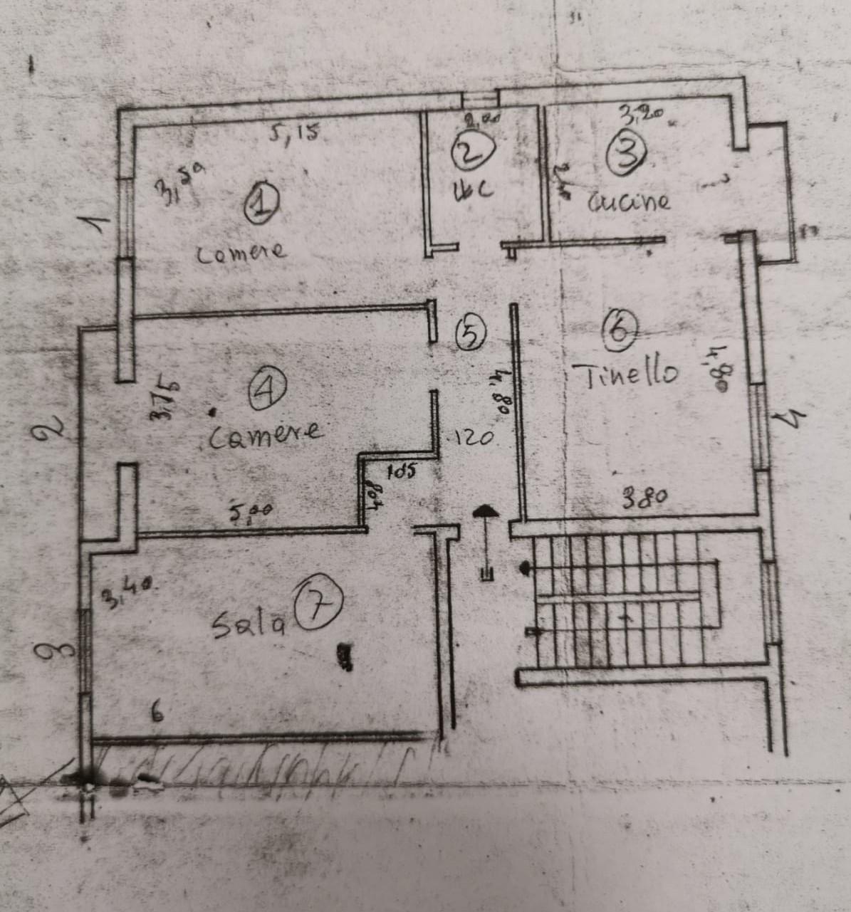 Appartamento in vendita, rif. LRA31 (Planimetria 1/1)