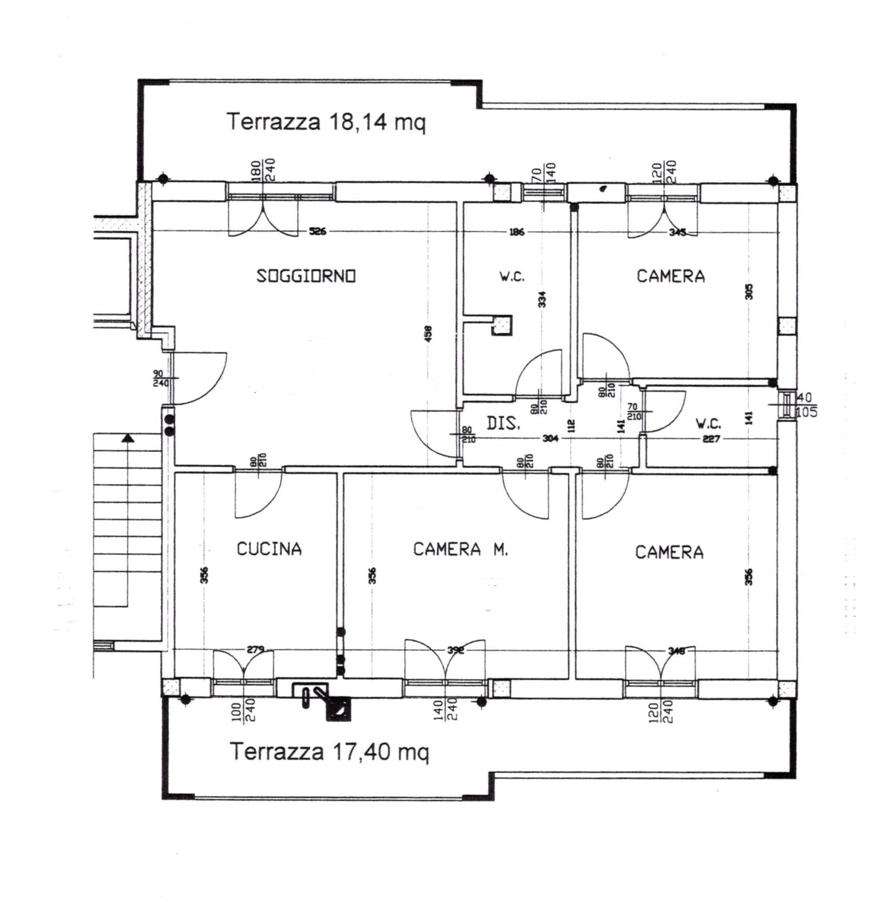 Planimetria 1/1 per rif. 102