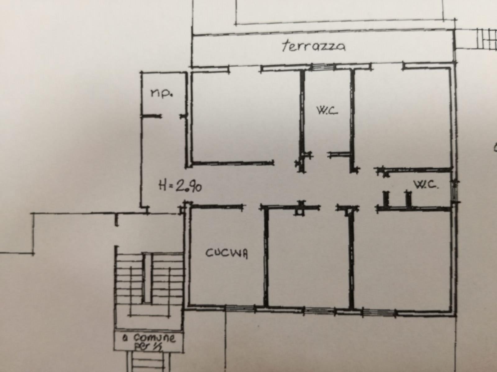 Appartamento in vendita, rif. 352 (Planimetria 1/1)