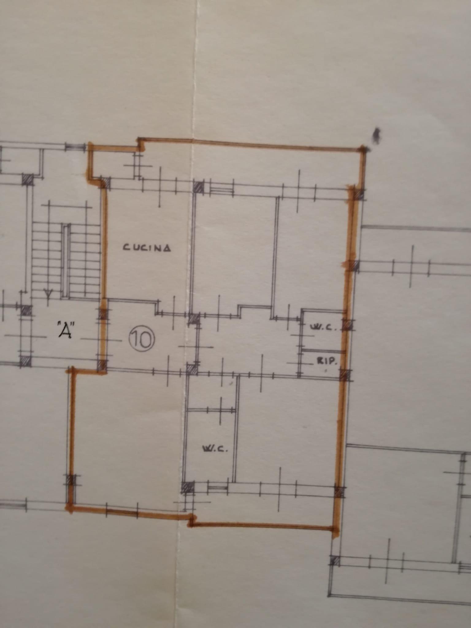 Appartamento in vendita, rif. 143 (Planimetria 1/1)