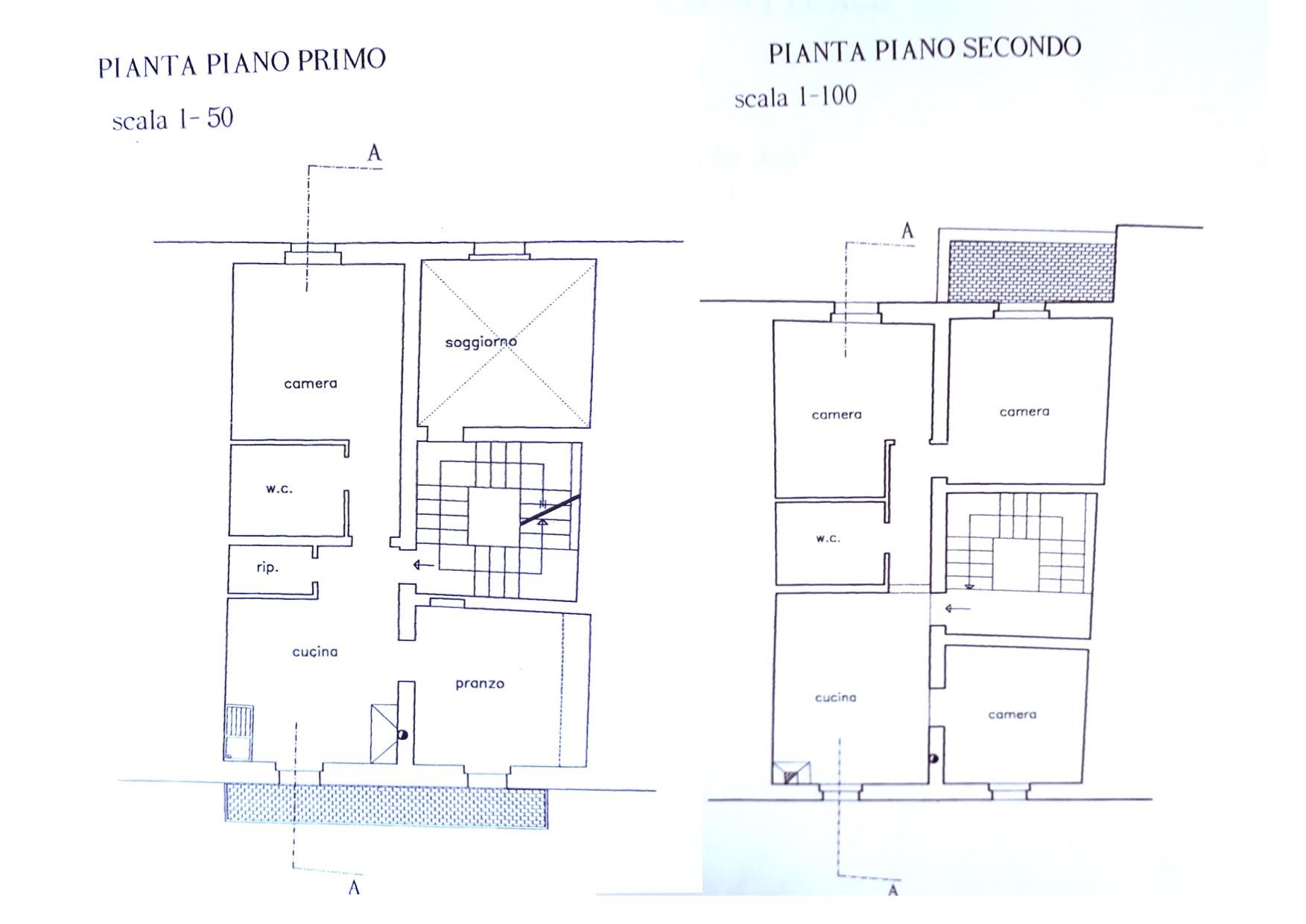 Villetta bifamiliare in vendita, rif. 387 (Planimetria 1/1)