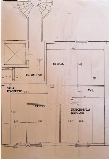 Ufficio in vendita, rif. 66 (Planimetria 1/1)