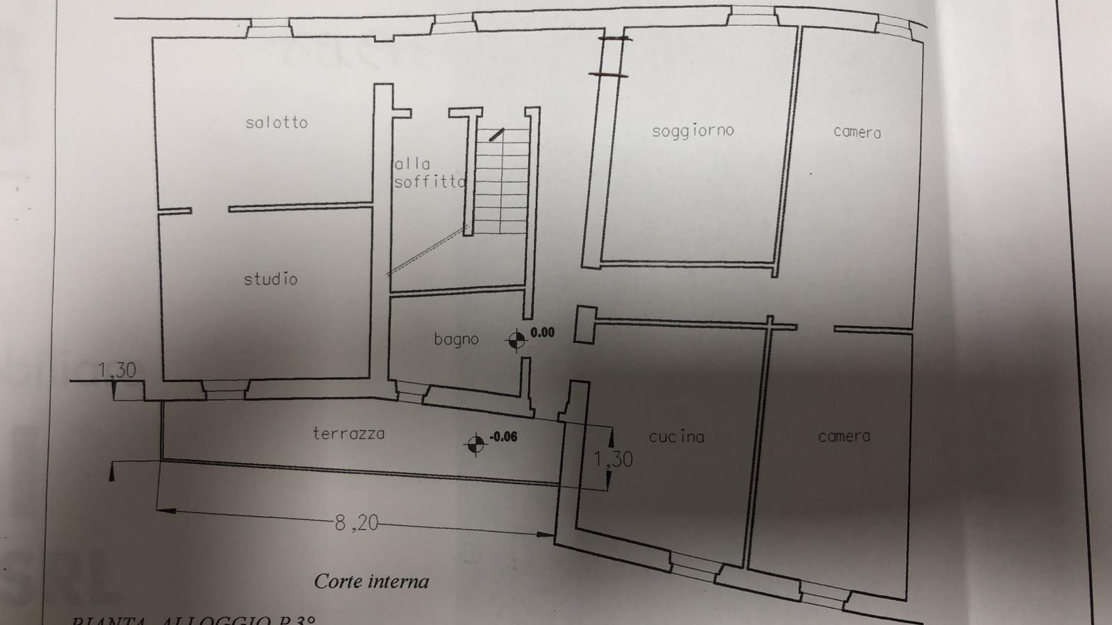 Appartamento in vendita, rif. 237 (Planimetria 1/1)