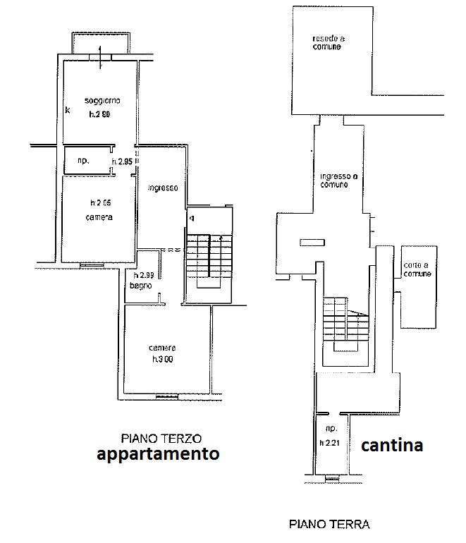 Appartamento in vendita, rif. 120 (Planimetria 1/1)