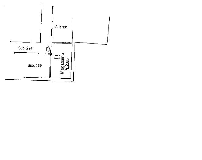 Appartamento in vendita, rif. 137FU (Planimetria 2/2)