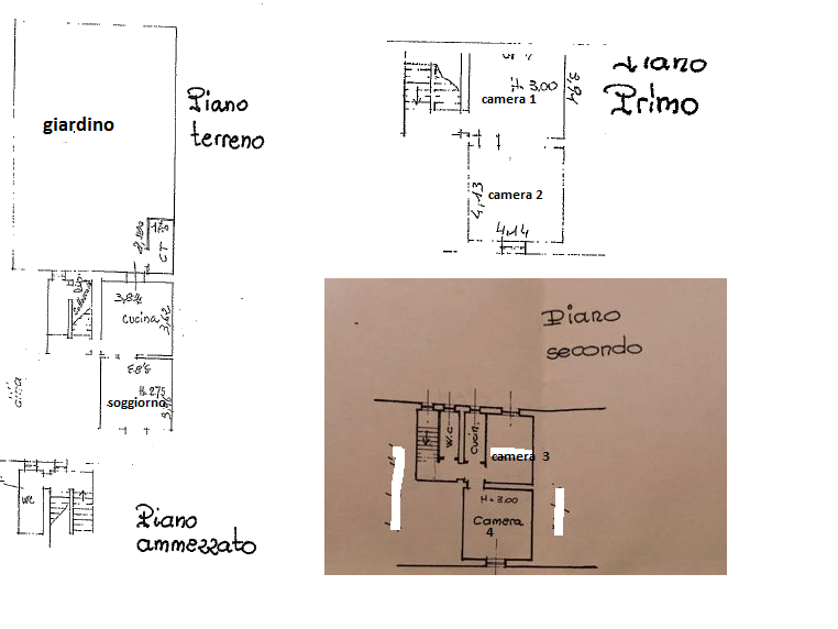 Appartamento in vendita, rif. 207 (Planimetria 1/1)