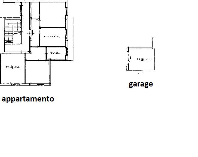 Appartamento in vendita, rif. 257 (Planimetria 1/1)