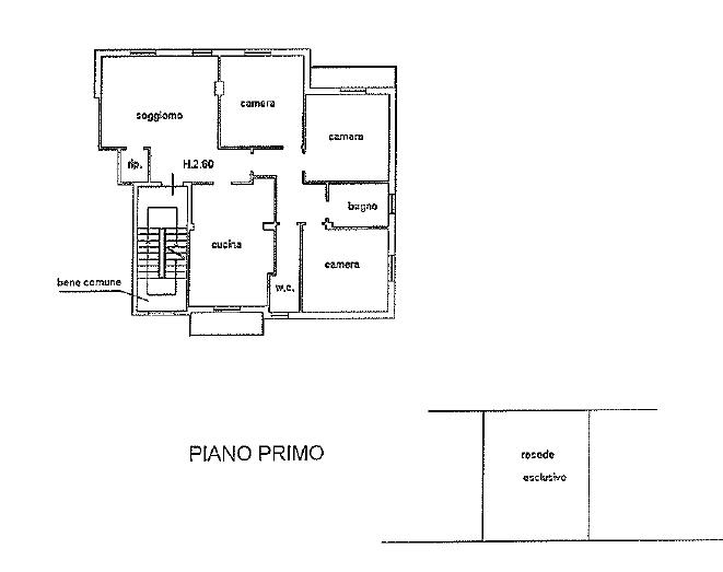 Appartamento in vendita, rif. 114 (Planimetria 1/1)