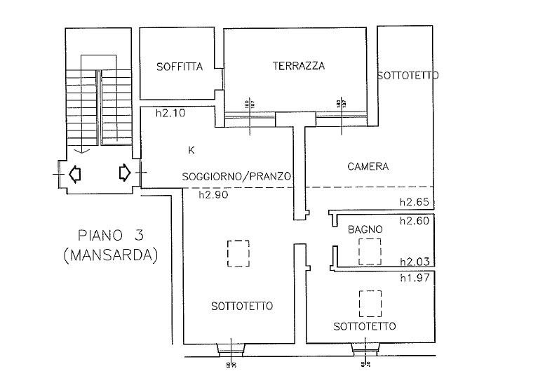Appartamento in vendita, rif. 214 (Planimetria 1/1)