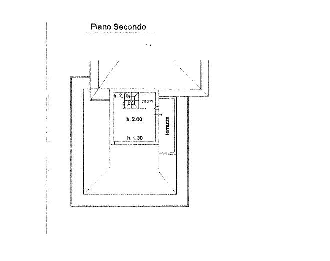 Terratetto in vendita, rif. 342 (Planimetria 3/5)