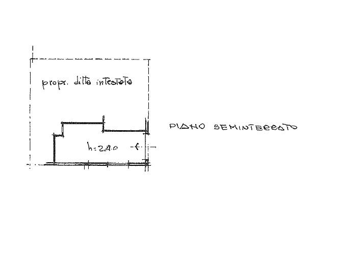 Terratetto in vendita, rif. 342 (Planimetria 4/5)
