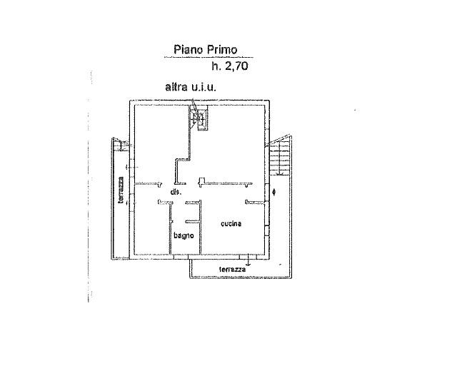 Terratetto in vendita, rif. 342 (Planimetria 2/5)