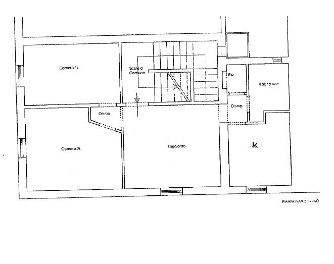 Appartamento in vendita, rif. 264 (Planimetria 1/1)