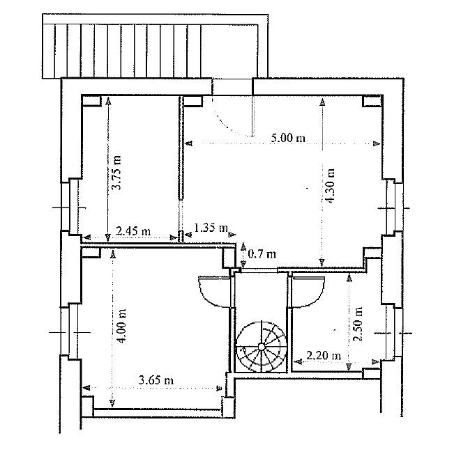 Appartamento in vendita, rif. 395 (Planimetria 1/2)