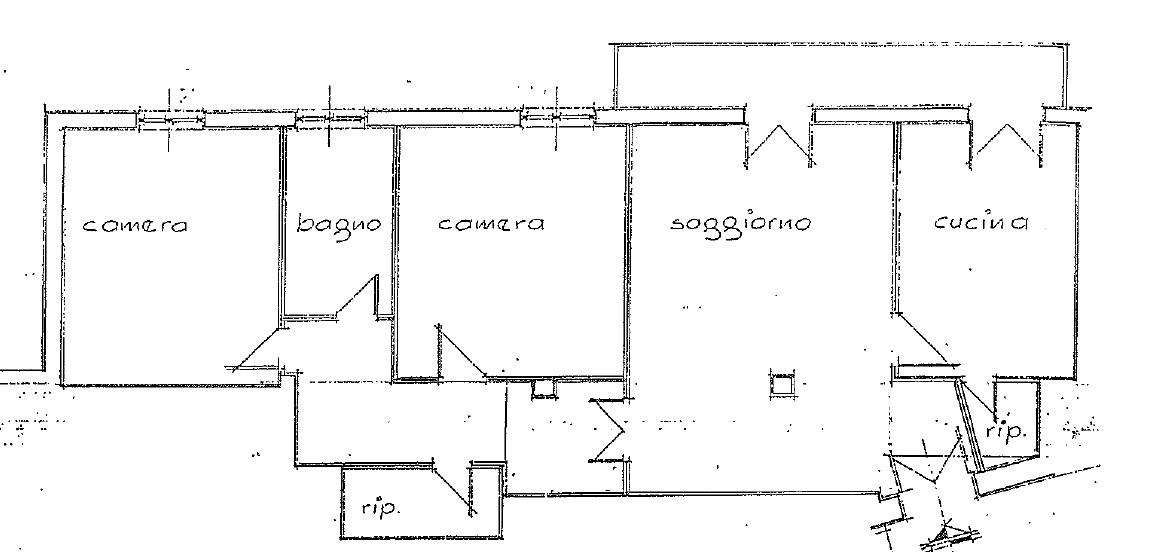 Appartamento in vendita, rif. 371 (Planimetria 1/1)