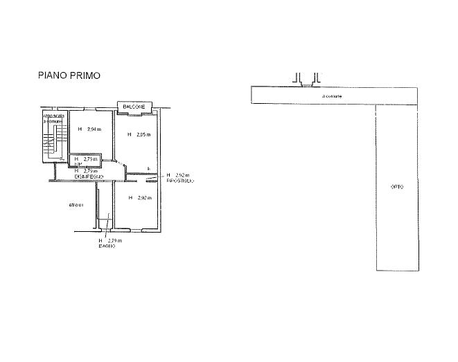 Appartamento in vendita, rif. 68 (Planimetria 1/1)