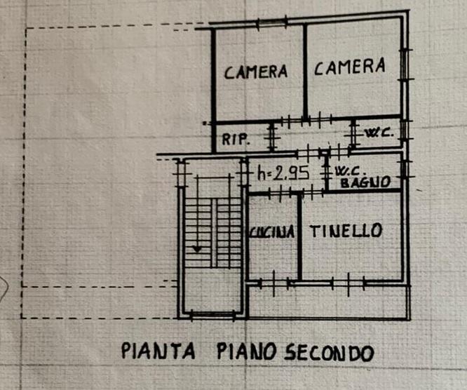 Appartamento in vendita, rif. 109 (Planimetria 1/2)
