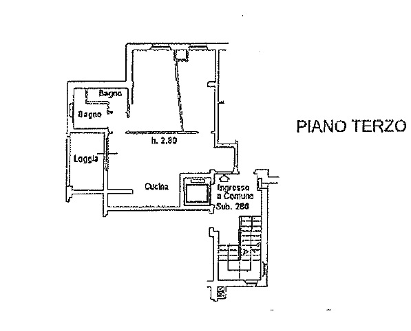 Appartamento in vendita, rif. 139 (Planimetria 1/1)