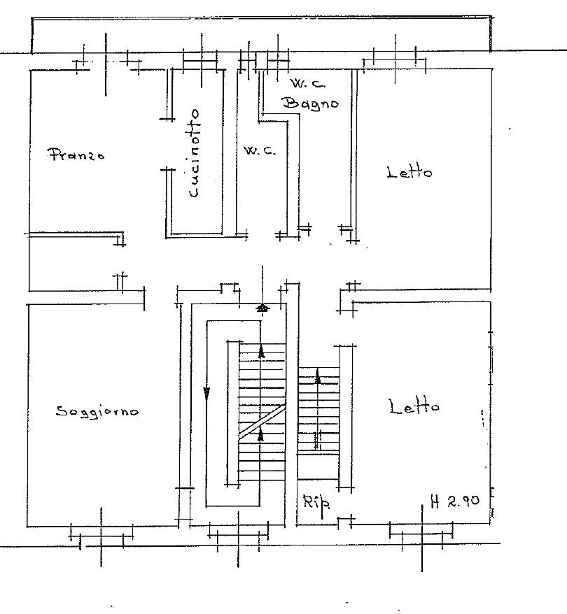 Appartamento in vendita, rif. 135FU (Planimetria 1/1)