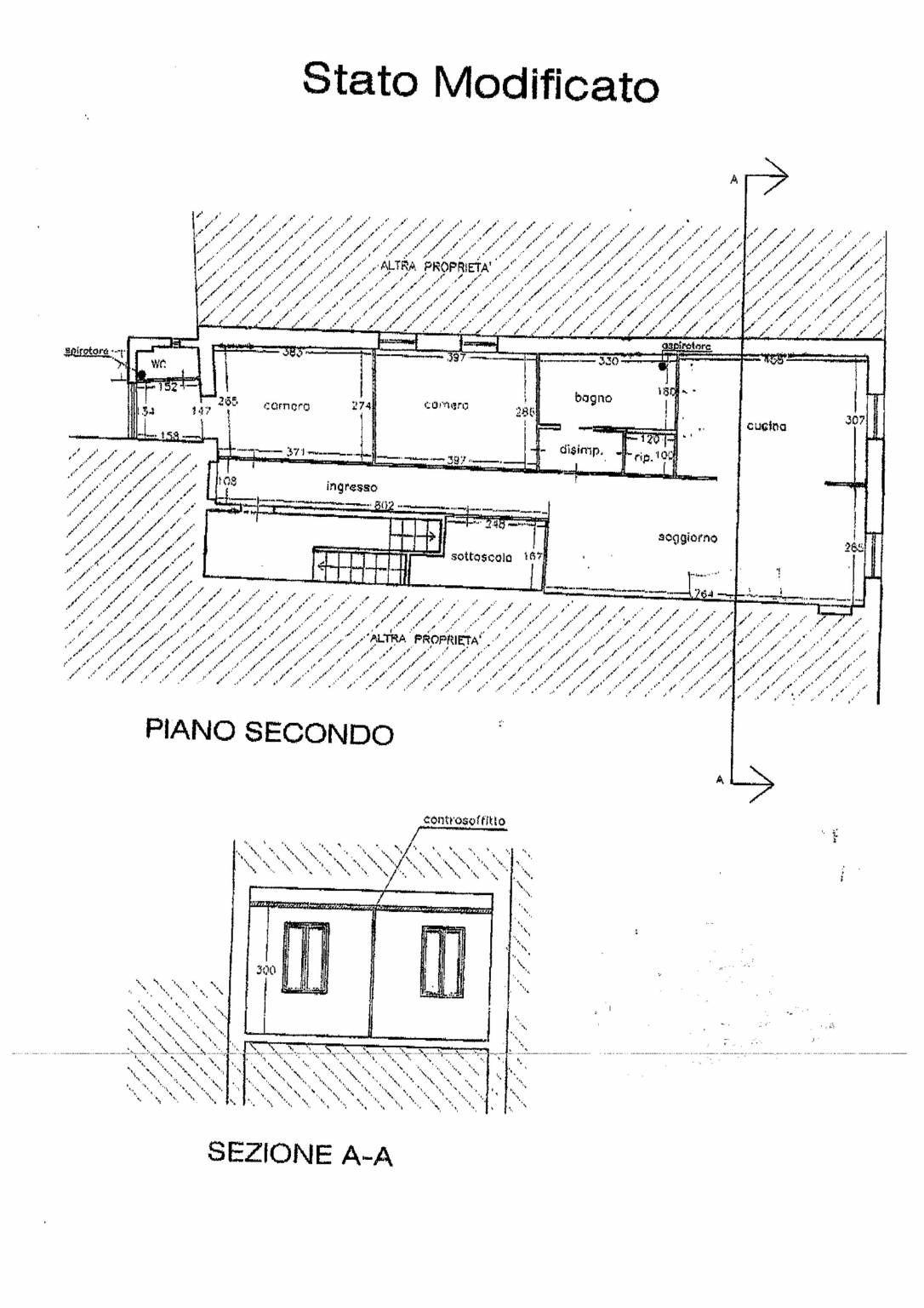 Planimetria 1/1 per rif. 3244