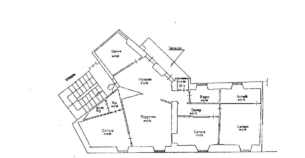 Planimetria 1/1 per rif. 3840