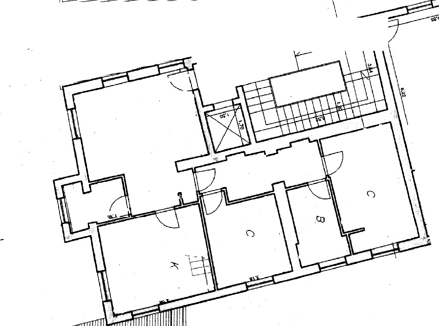 Planimetria 1/1 per rif. 4050