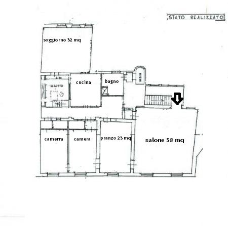 Planimetria 1/1 per rif. 3472