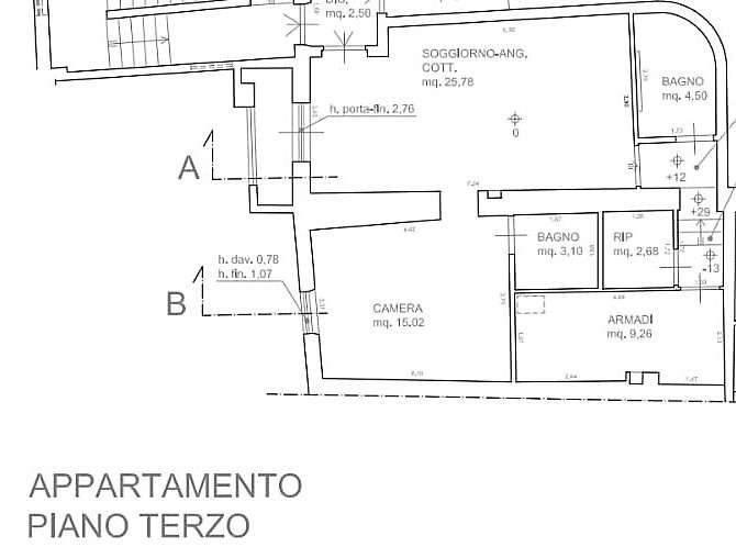 Planimetria 1/1 per rif. 4073