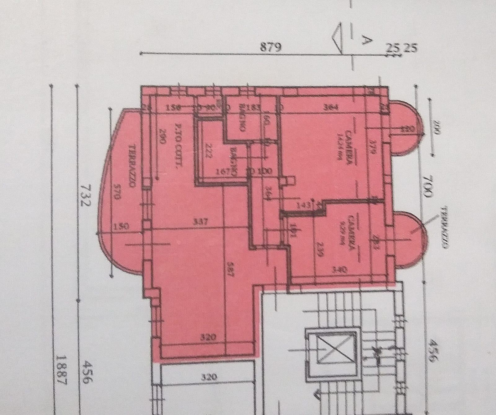 Planimetria 1/1 per rif. 4122