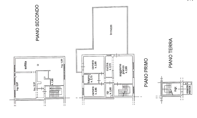 Planimetria 1/1 per rif. 4485