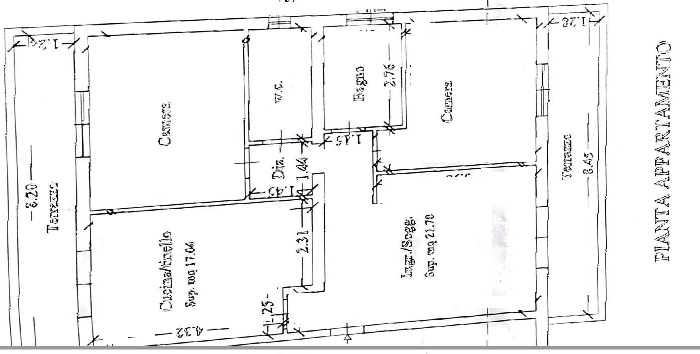 Planimetria 1/1 per rif. 4142