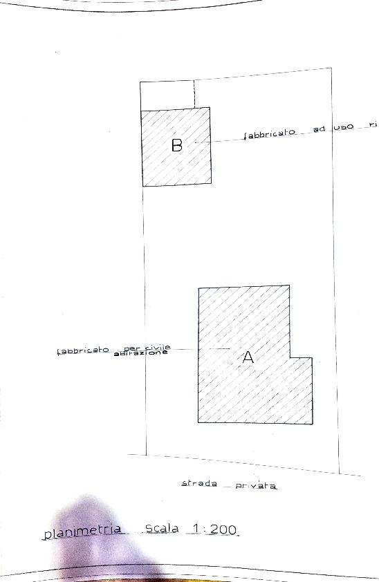 Planimetria 1/4 per rif. 4222