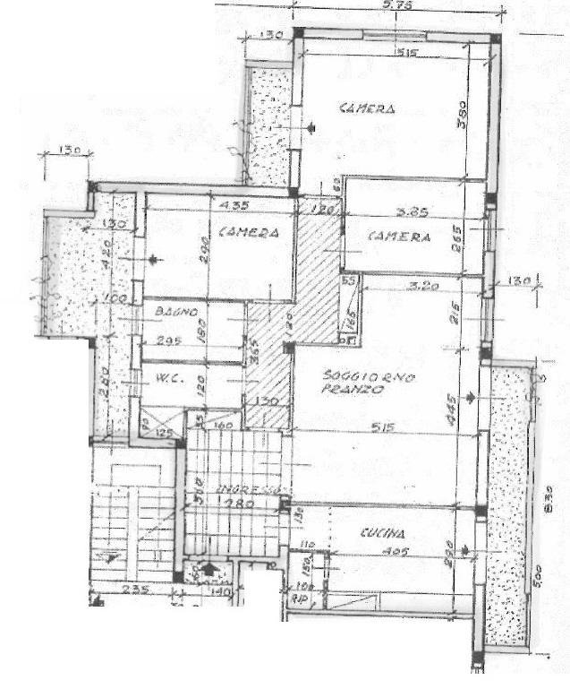 Planimetria 1/1 per rif. 4244