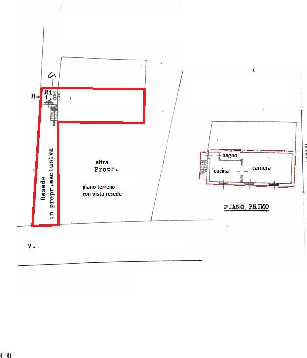 Planimetria 1/1 per rif. 4268