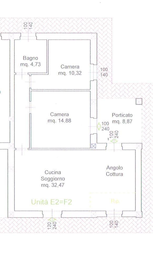 Planimetria 1/1 per rif. 4373