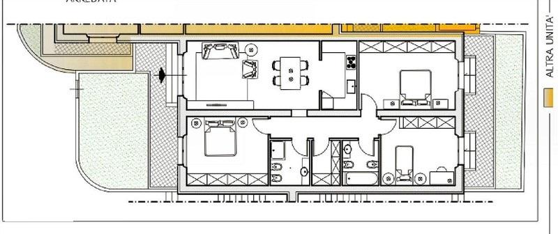 Planimetria 1/1 per rif. 4377