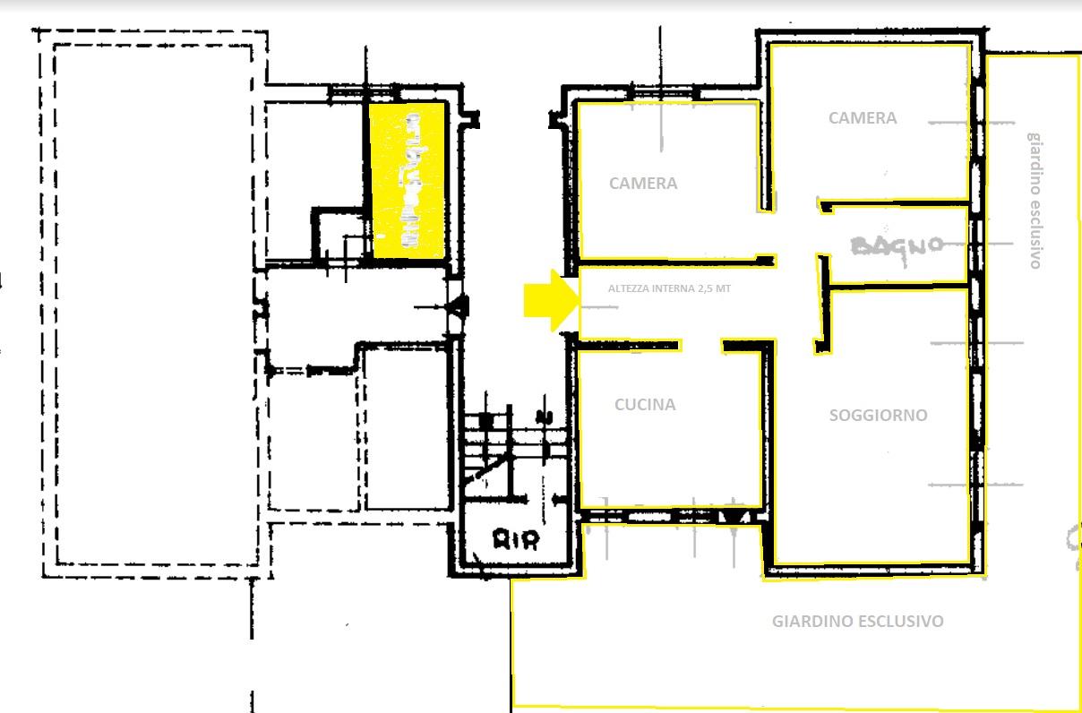 Planimetria 1/1 per rif. 4411