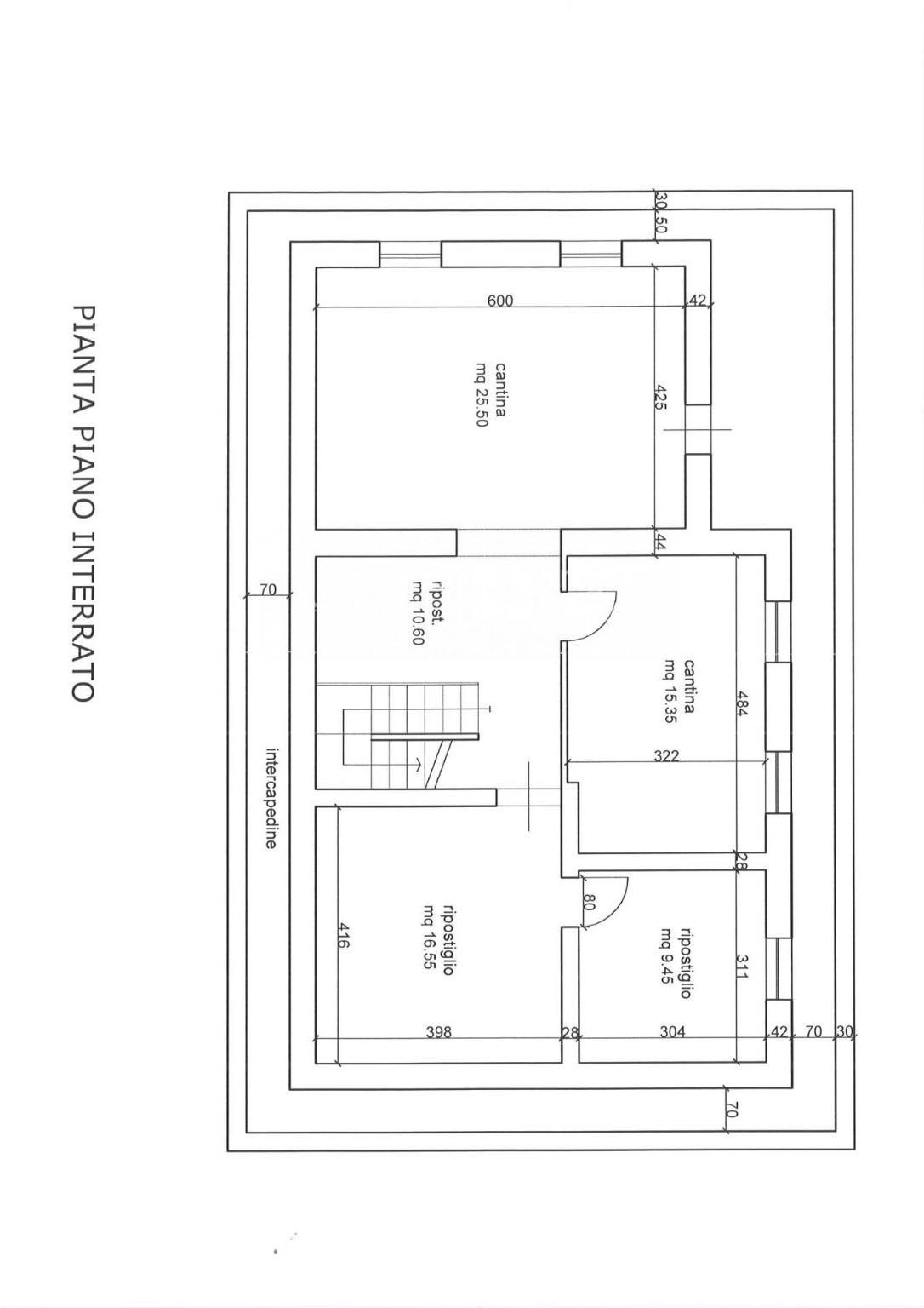 Planimetria 3/3 per rif. 4424