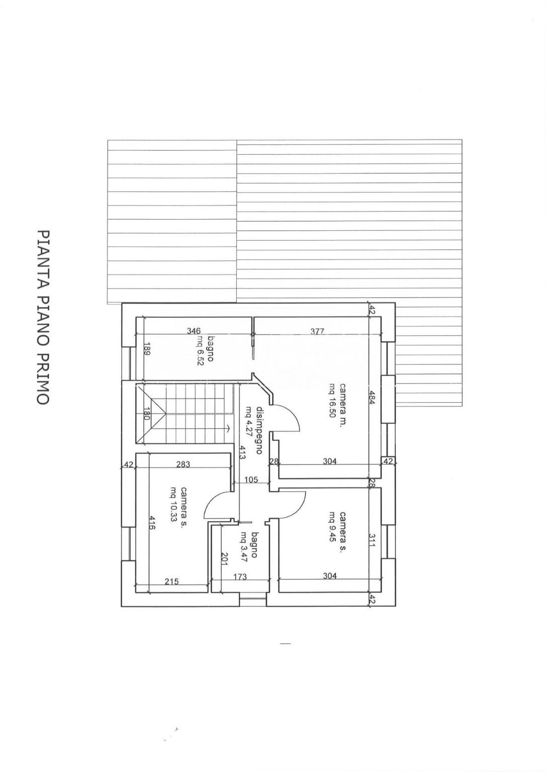 Planimetria 2/3 per rif. 4424