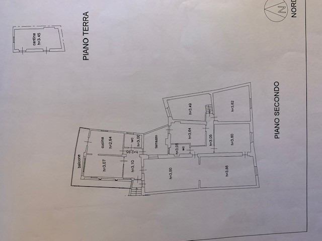 Planimetria 1/1 per rif. 4431