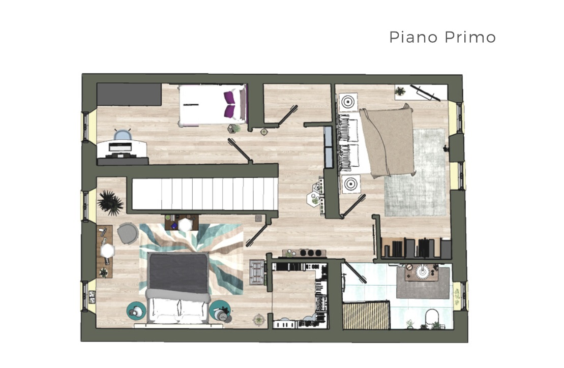 Planimetria 2/2 per rif. 4441