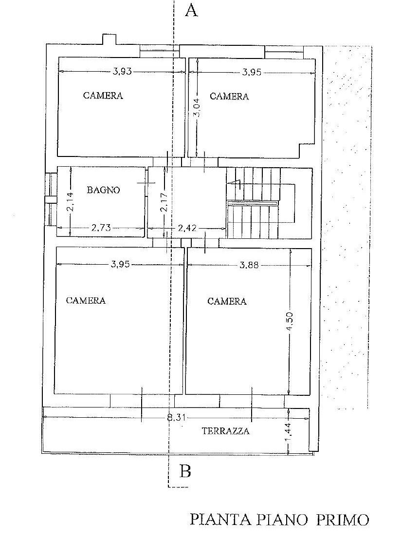 Planimetria 2/2 per rif. 4458