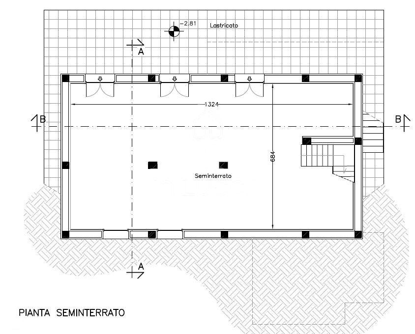 Planimetria 1/2 per rif. 4460