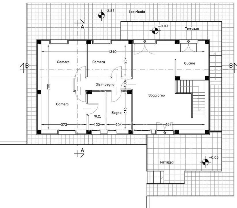 Planimetria 2/2 per rif. 4460