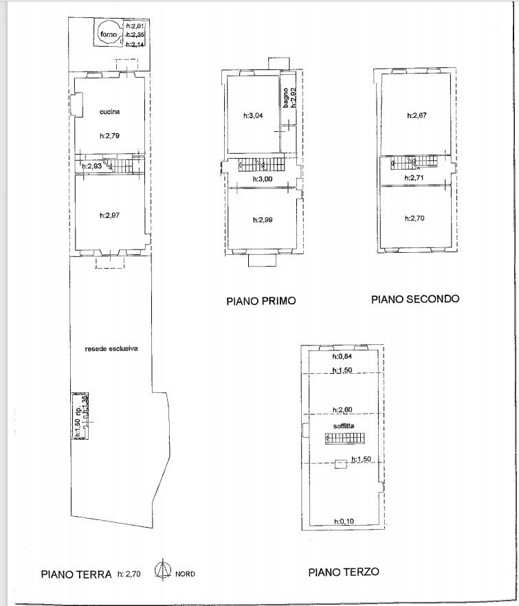 Planimetria 2/2 per rif. 4467