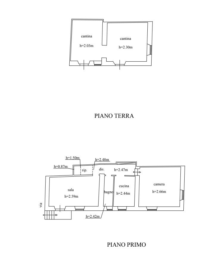 Planimetria 1/1 per rif. 4469