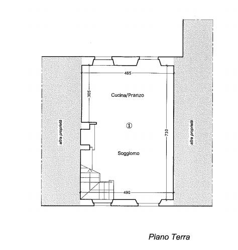 Planimetria 1/2 per rif. 4478