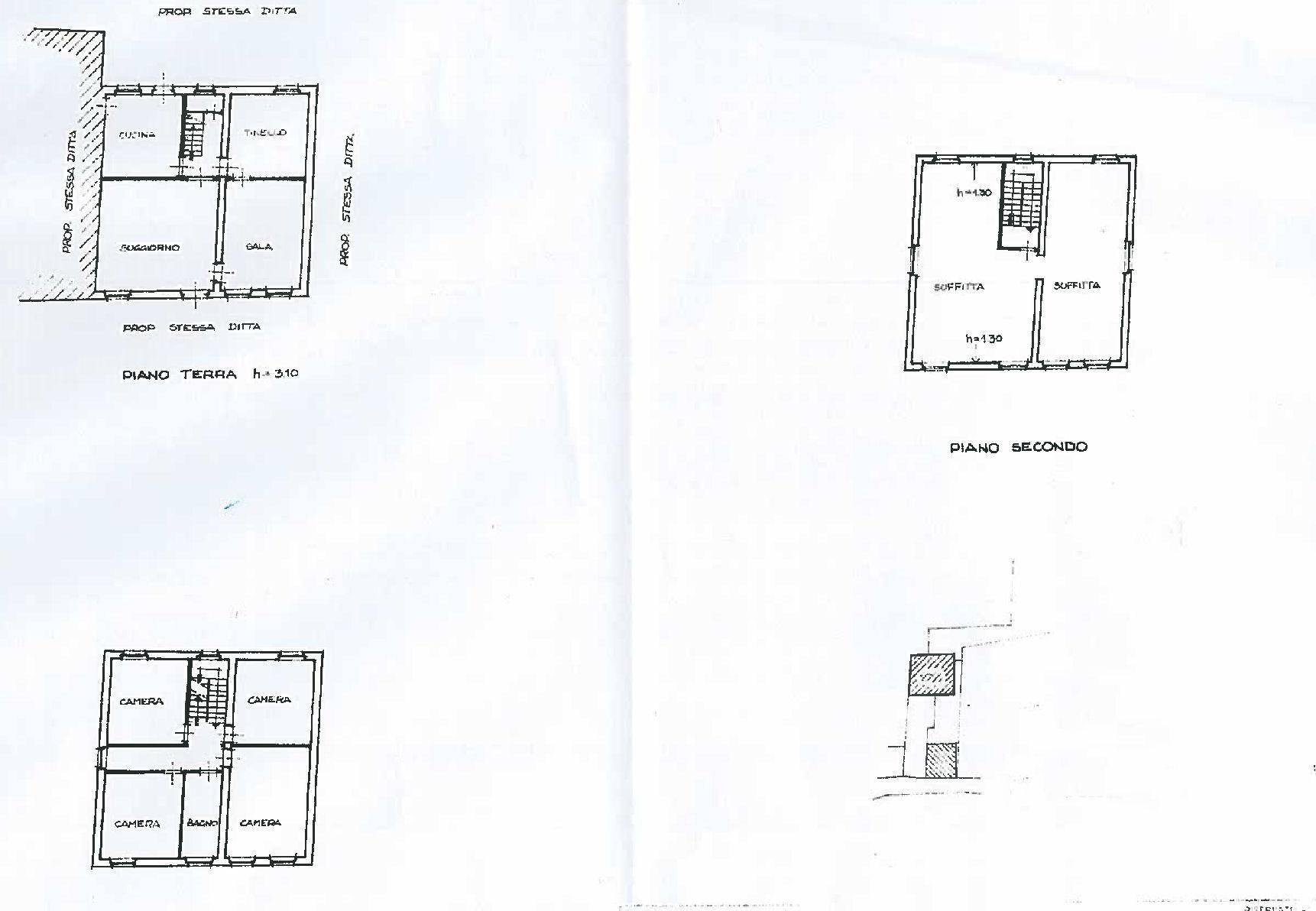 Planimetria 1/1 per rif. 4497